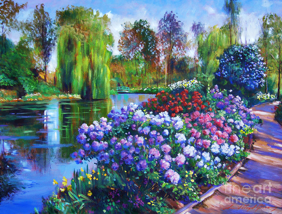 Spring Park Painting