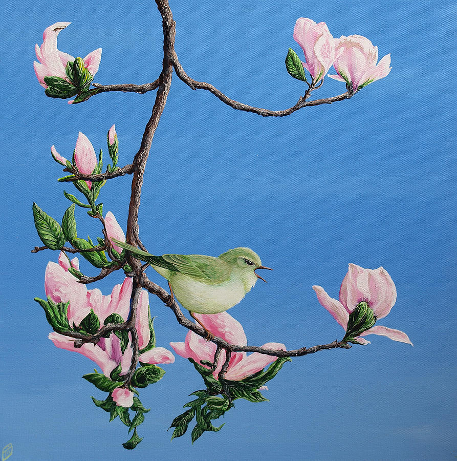 Spring Songster Painting