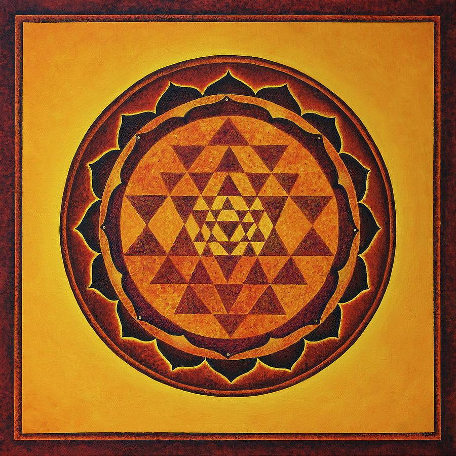 Sri yantra the glow of the beloved by erik grind