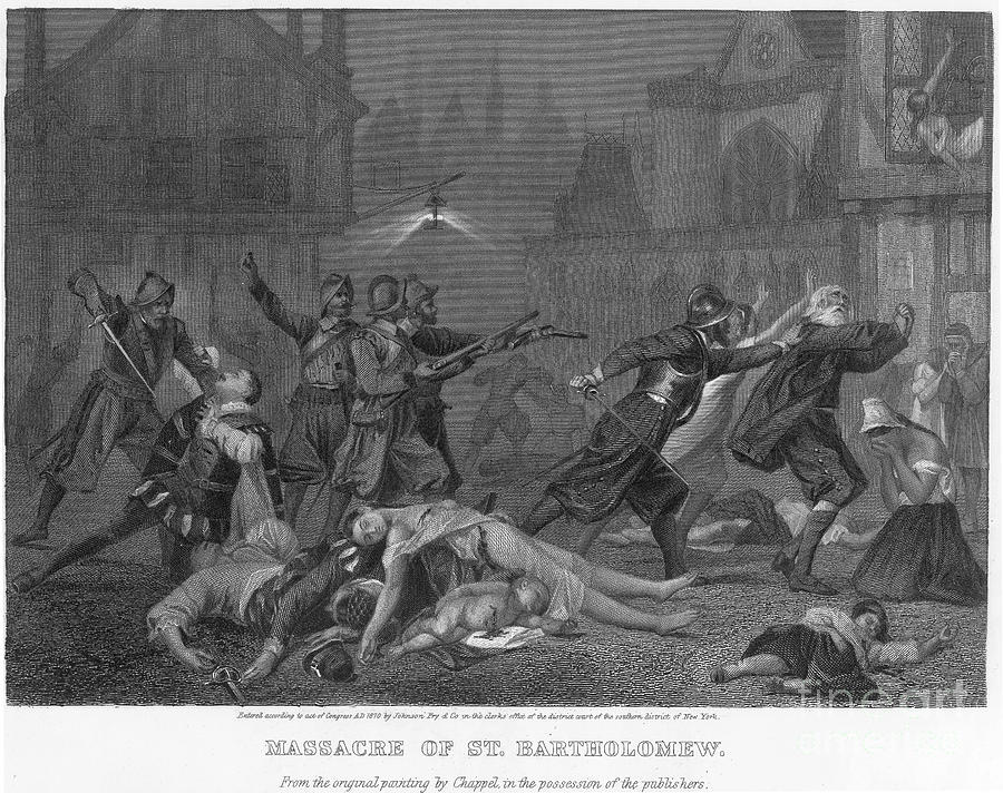 St Bartholomews Massacre Photograph