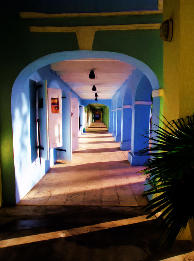 St. Croix Arches  Painting