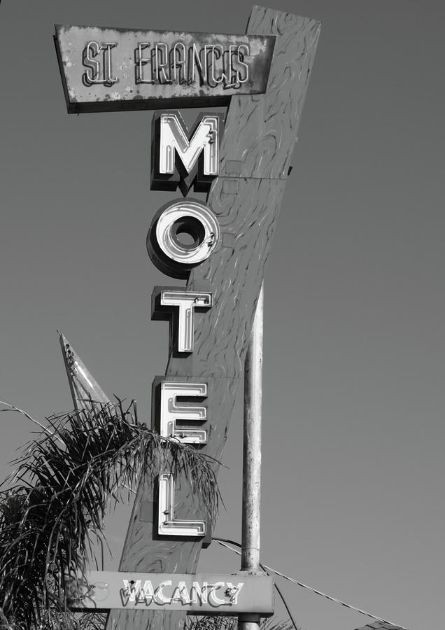 St Francis Motel Stockton Ca Photograph