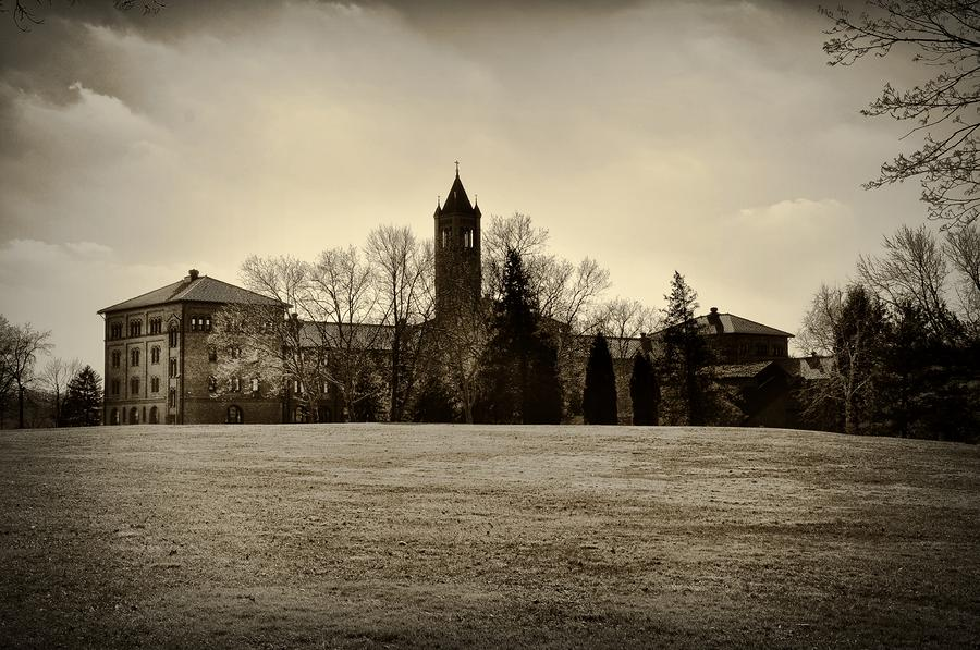 St. Gabriels Hall - Monkey Hall Photograph  - St. Gabriels Hall - Monkey Hall Fine Art Print