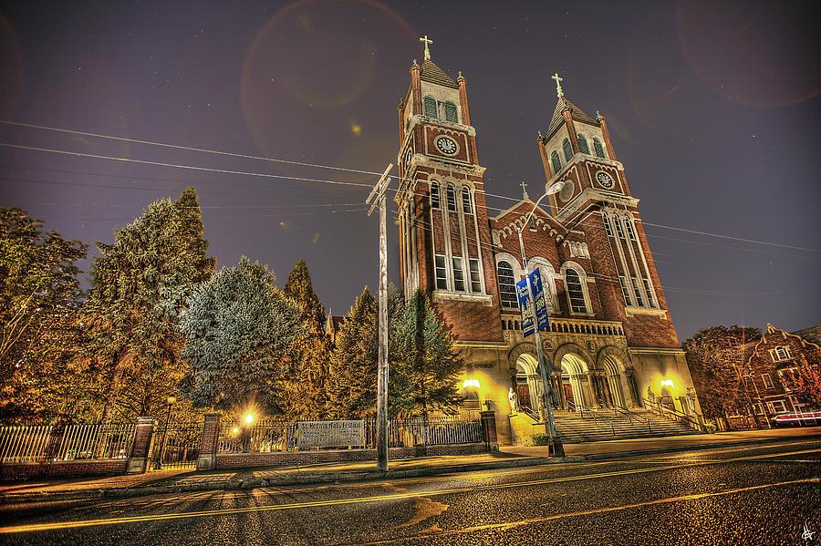 St. Hedwig Detroit Mi Photograph