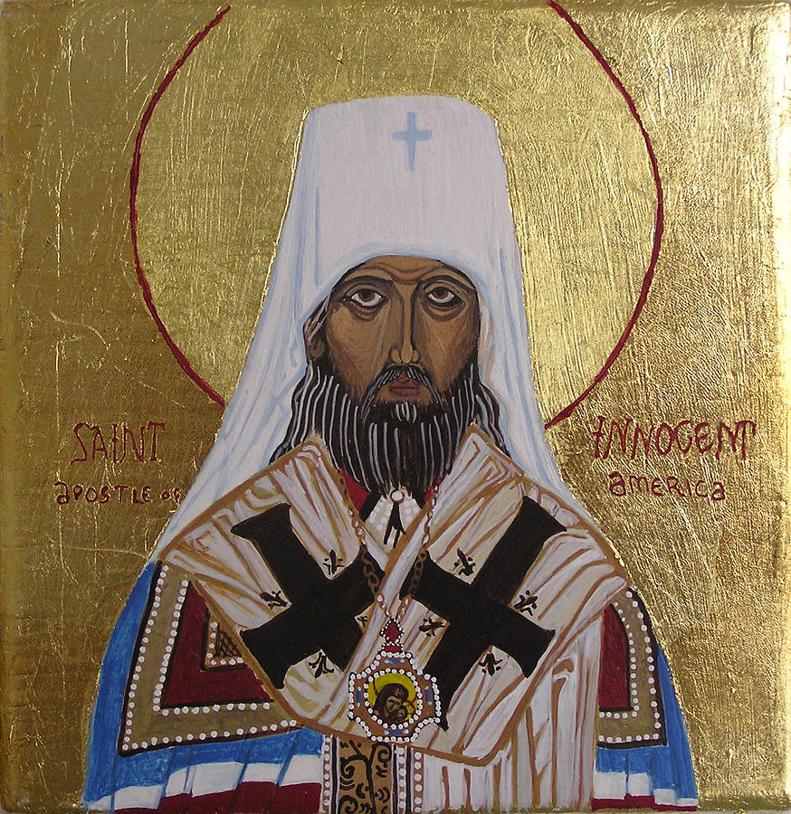 St. Innocent  Painting