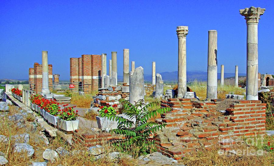 St John Basilica Ruins Photograph