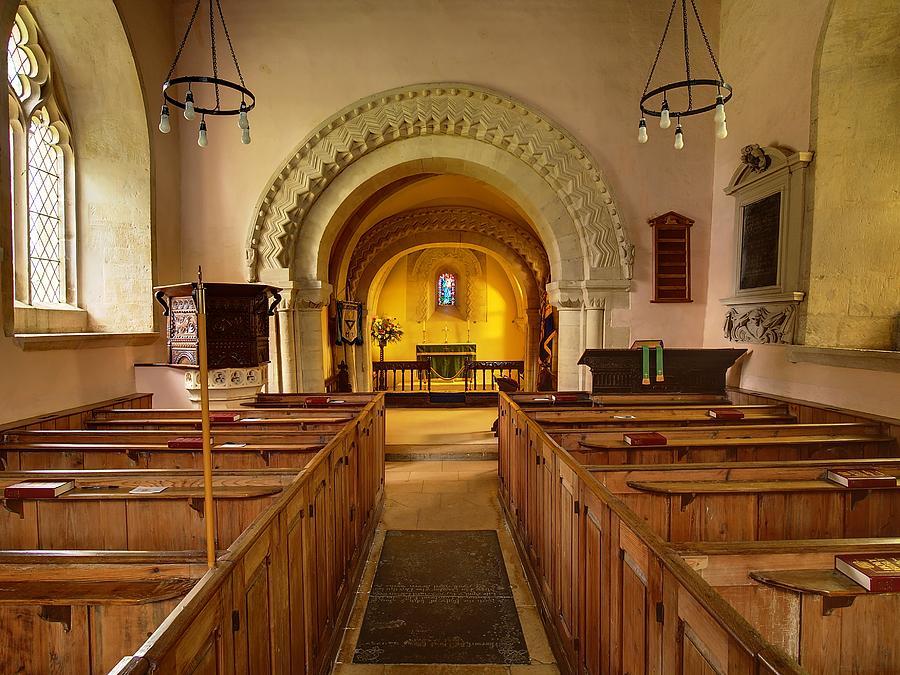 St John The Evangelist Elkstone Gloucestershire Photograph
