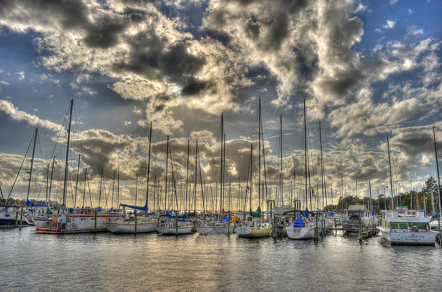 Florida Photograph - St. Johns River by Dennis Clark