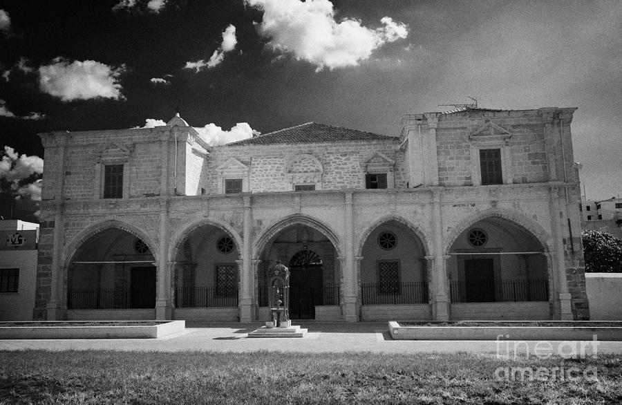 St Josephs Convent And Catholic Church St Joseph De L Apparition Larnaca Republic Cyprus Photograph  - St Josephs Convent And Catholic Church St Joseph De L Apparition Larnaca Republic Cyprus Fine Art Print