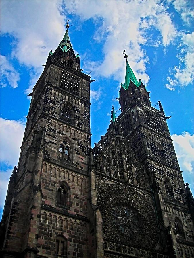Europe Photograph - St. Lorenz Church - Nuremberg by Juergen Weiss