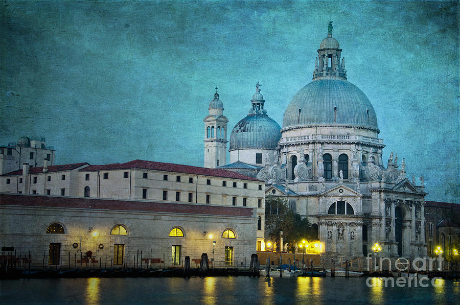 St Maria Della Salute From St Marks  Photograph