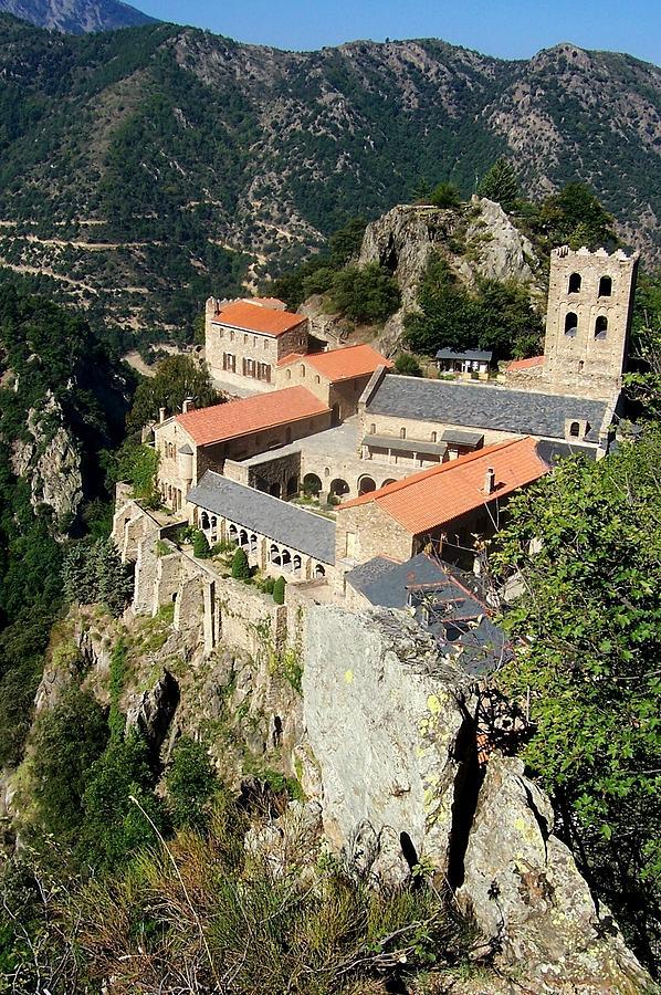 St Martin Du Canigou Abbey France Photograph