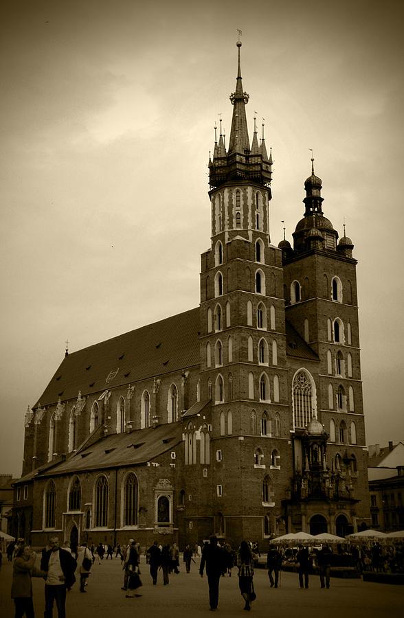 St. Marys Basilica Photograph
