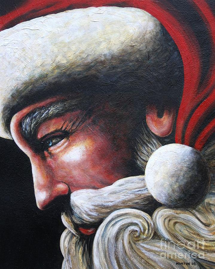 St. Nick Painting