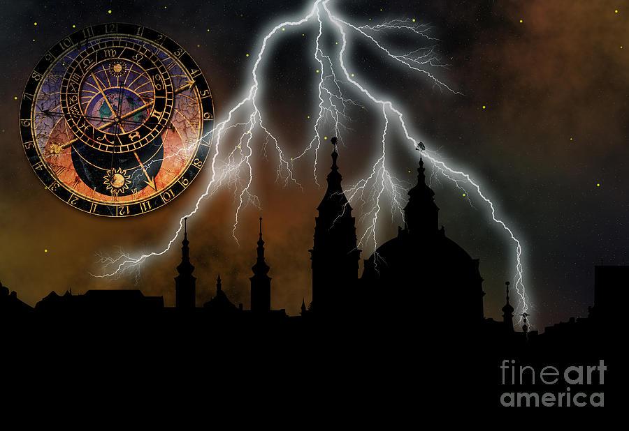 St Nikolas Church - Prague Digital Art