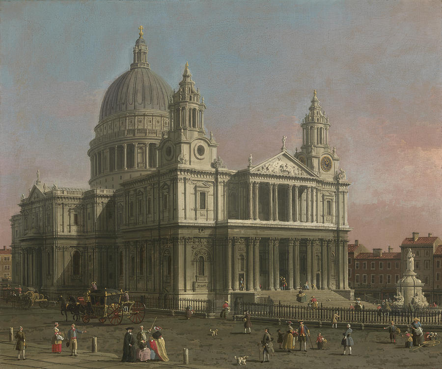 St. Pauls Cathedral Painting  - St. Pauls Cathedral Fine Art Print