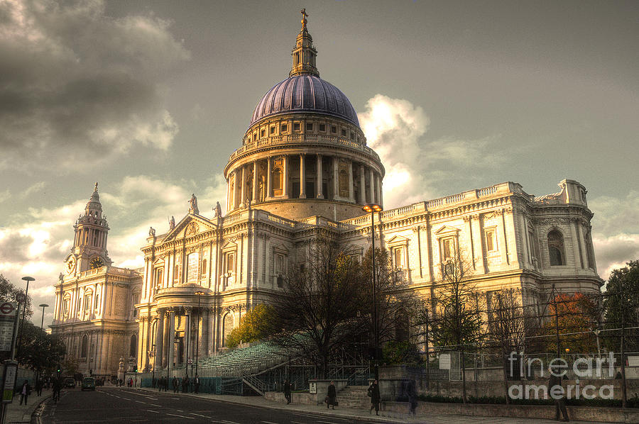 St Pauls Cathedral Photograph  - St Pauls Cathedral Fine Art Print