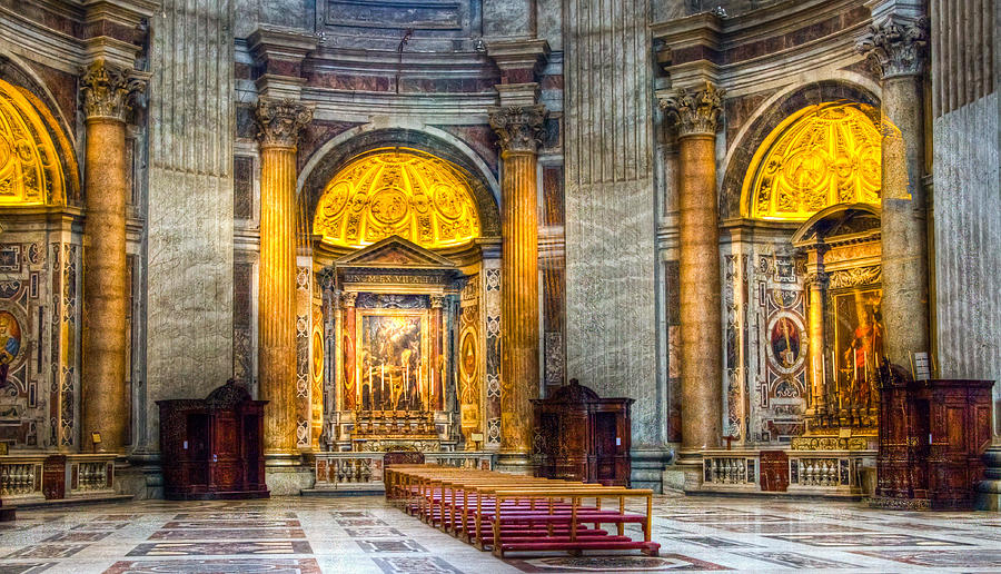 Building Materials Of St Peter S Basilica