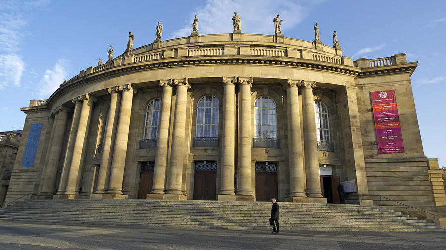 Staatstheater State Theater Stuttgart Germany Photograph
