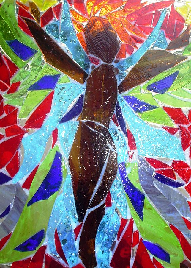 Stained Glass Angel Glass Art