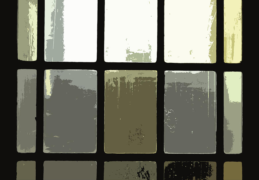Stained Glass Doors 2 Photograph  - Stained Glass Doors 2 Fine Art Print