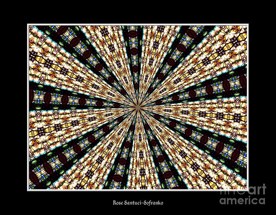 Stained Glass Kaleidoscope 39 Photograph  - Stained Glass Kaleidoscope 39 Fine Art Print