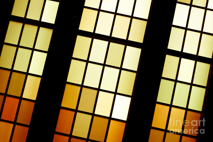 Stained Glass Photograph  - Stained Glass Fine Art Print