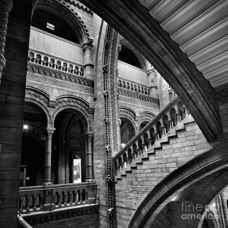 Stairs And Arches Photograph