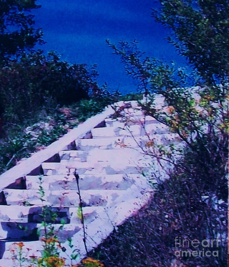 Stairway To Heaven Photograph  - Stairway To Heaven Fine Art Print