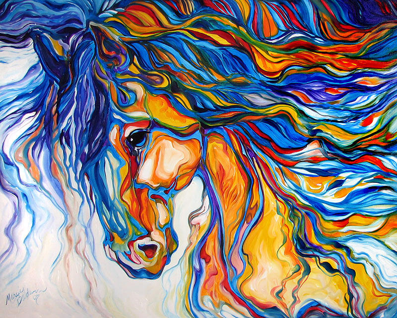 Stallion Southwest By M Baldwin by Marcia Baldwin