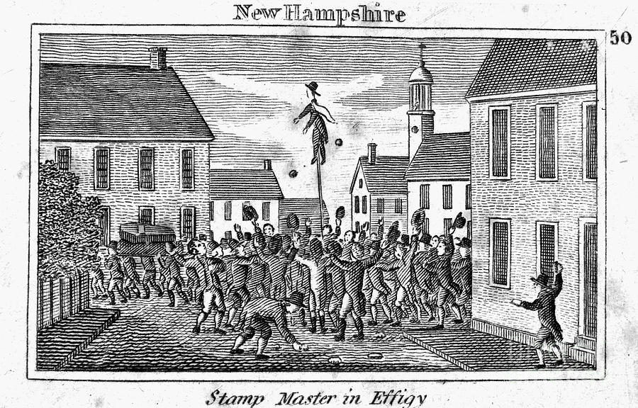 Stamp Act Protest 1765 Photograph By Granger