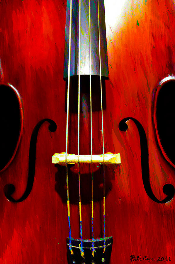Stand Up Bass Photograph  - Stand Up Bass Fine Art Print