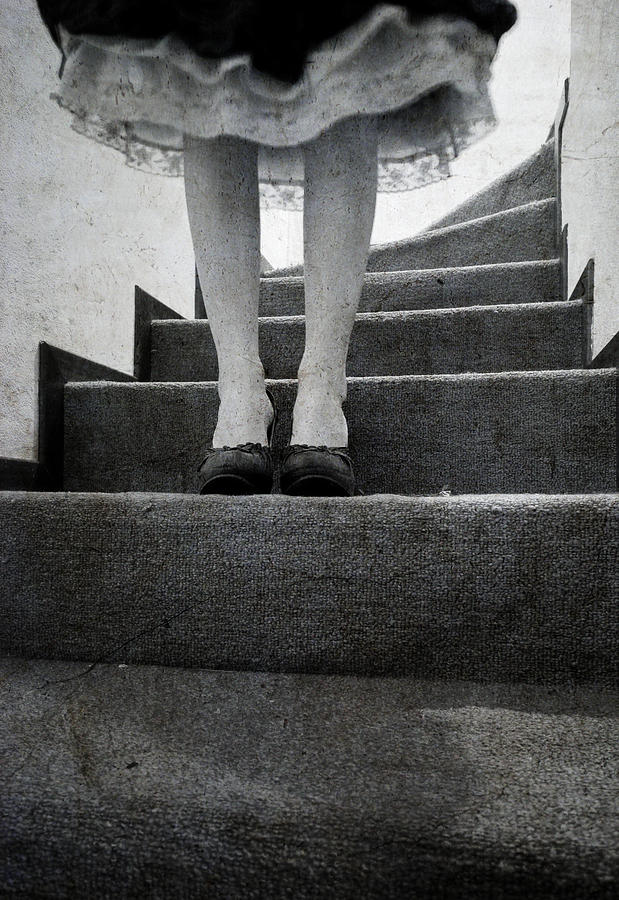 Stairs Photograph - Standing by Laura Melis