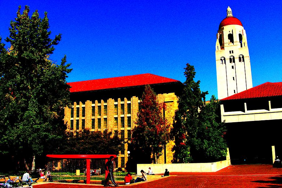 Stanford University - Stanford Ca Photograph  - Stanford University - Stanford Ca Fine Art Print
