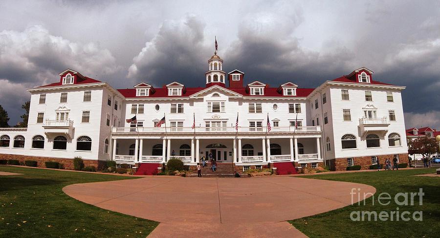 Stanley Hotel Estes Park Colorado By Donna Van Vlack