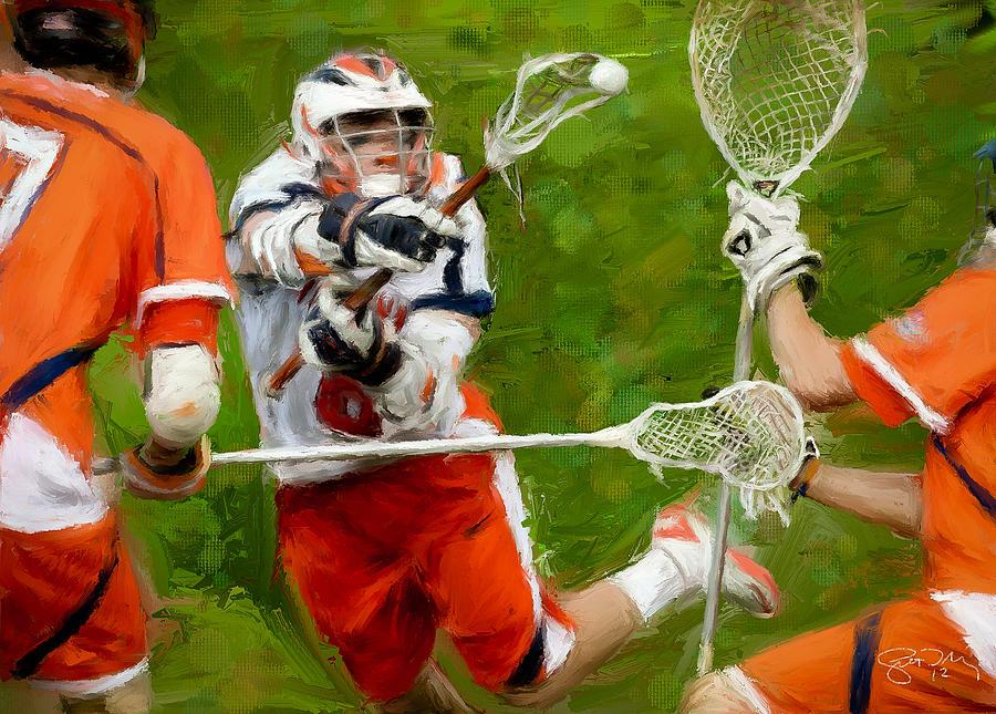 Stanwick Lacrosse 2 Painting