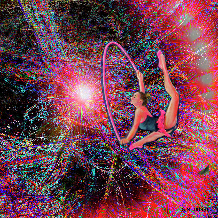 Star Dancer Mixed Media