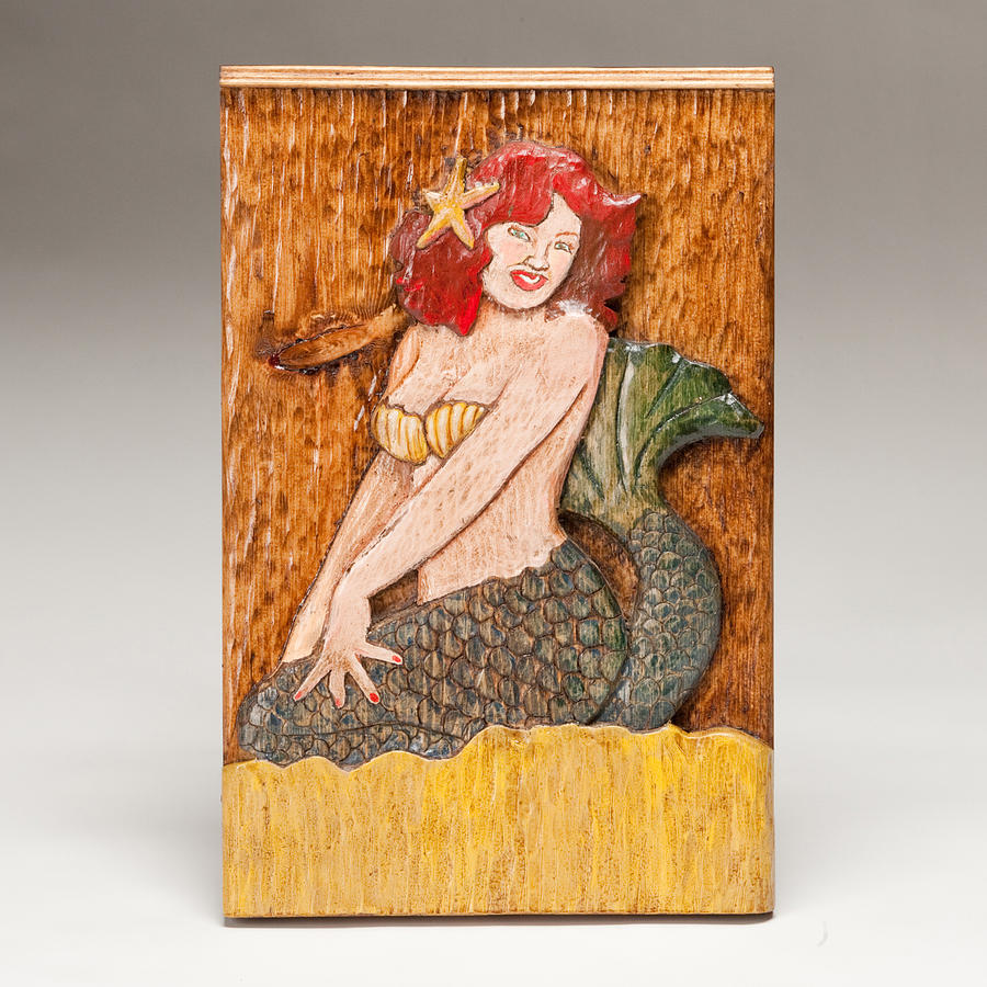 Star Mermaid Sculpture  - Star Mermaid Fine Art Print