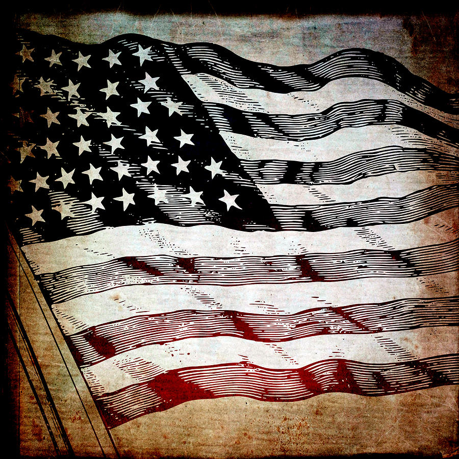 Star Spangled Banner Mixed Media  - Star Spangled Banner Fine Art Print