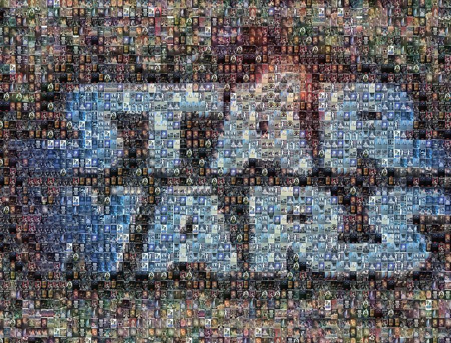 Star Wars Posters Mosaic Mixed Media