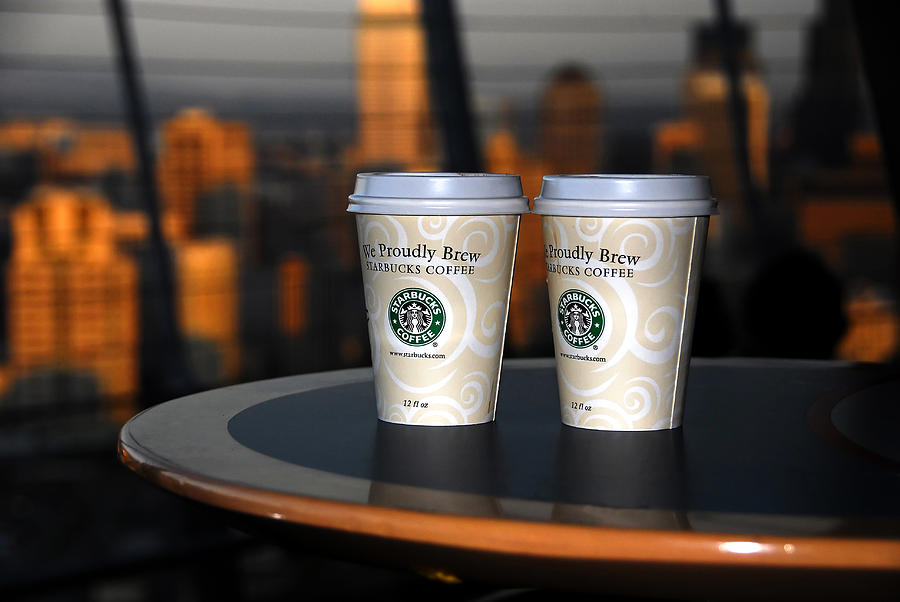 Starbucks At The Top Photograph