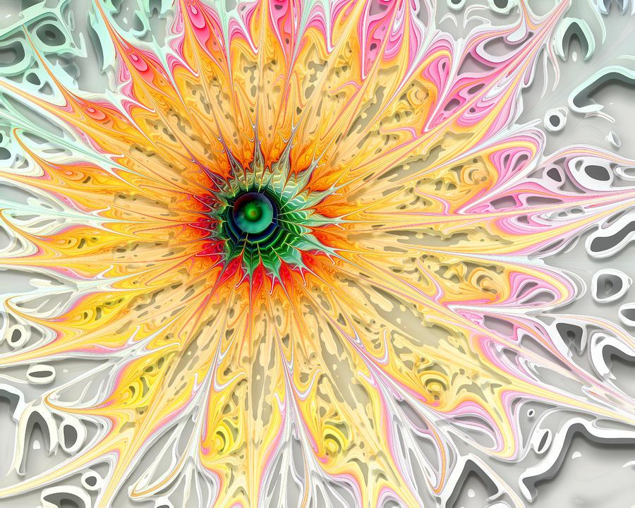 Starburst Digital Art