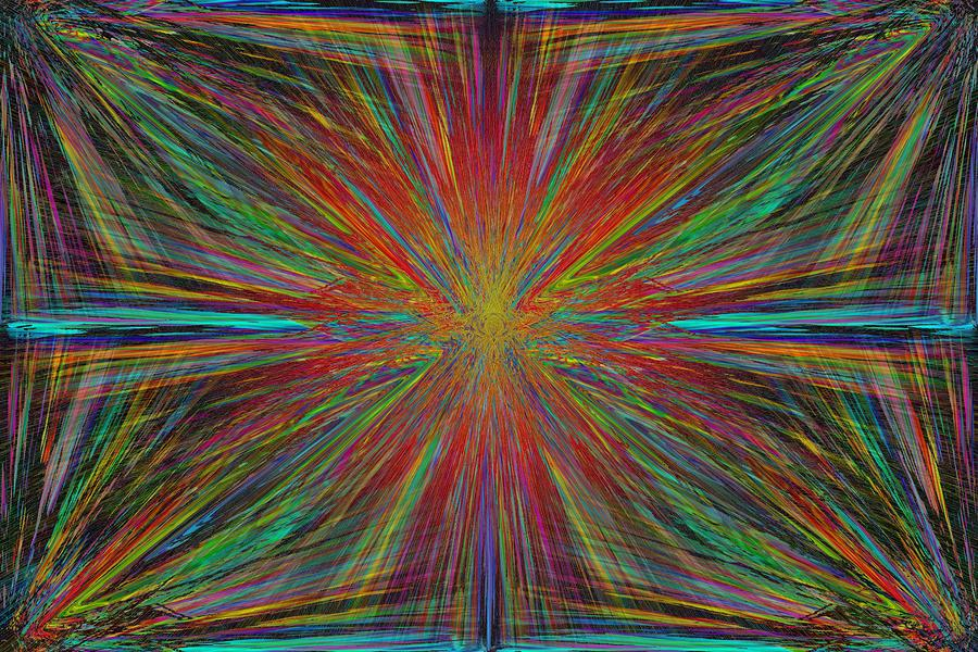 Starburst Digital Art