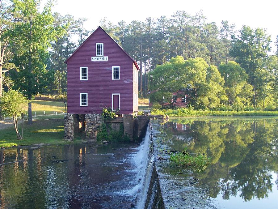 Starrs Mill Georgia Summer Morn Photograph  - Starrs Mill Georgia Summer Morn Fine Art Print