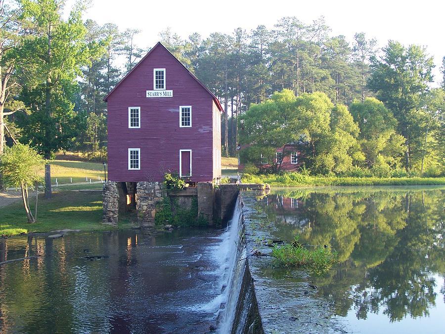 Starr's Mill Photograph - Starrs Mill Georgia Summer Morn by Jake Hartz