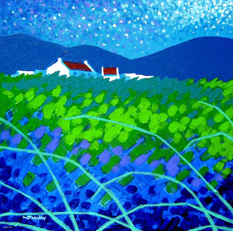 Starry Night In Wicklow Painting  - Starry Night In Wicklow Fine Art Print