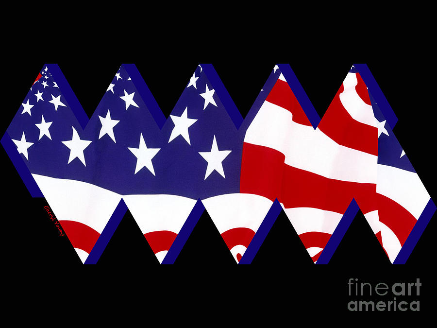 Stars And Stripes Photograph  - Stars And Stripes Fine Art Print
