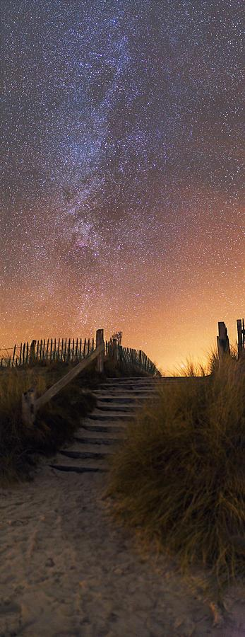 Stars In A Night Sky Photograph