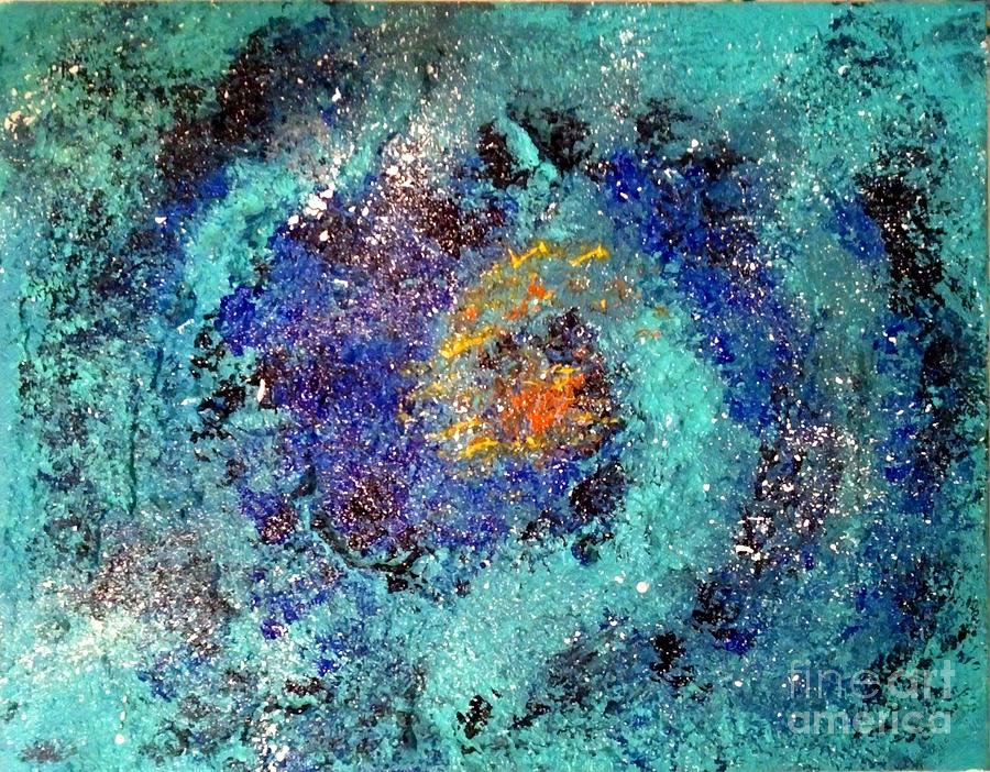 Stars In The Sky Painting  - Stars In The Sky Fine Art Print