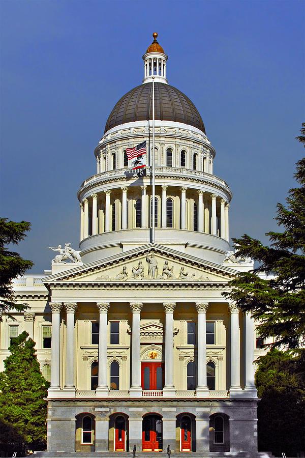 State Capitol Building Sacramento California Photograph